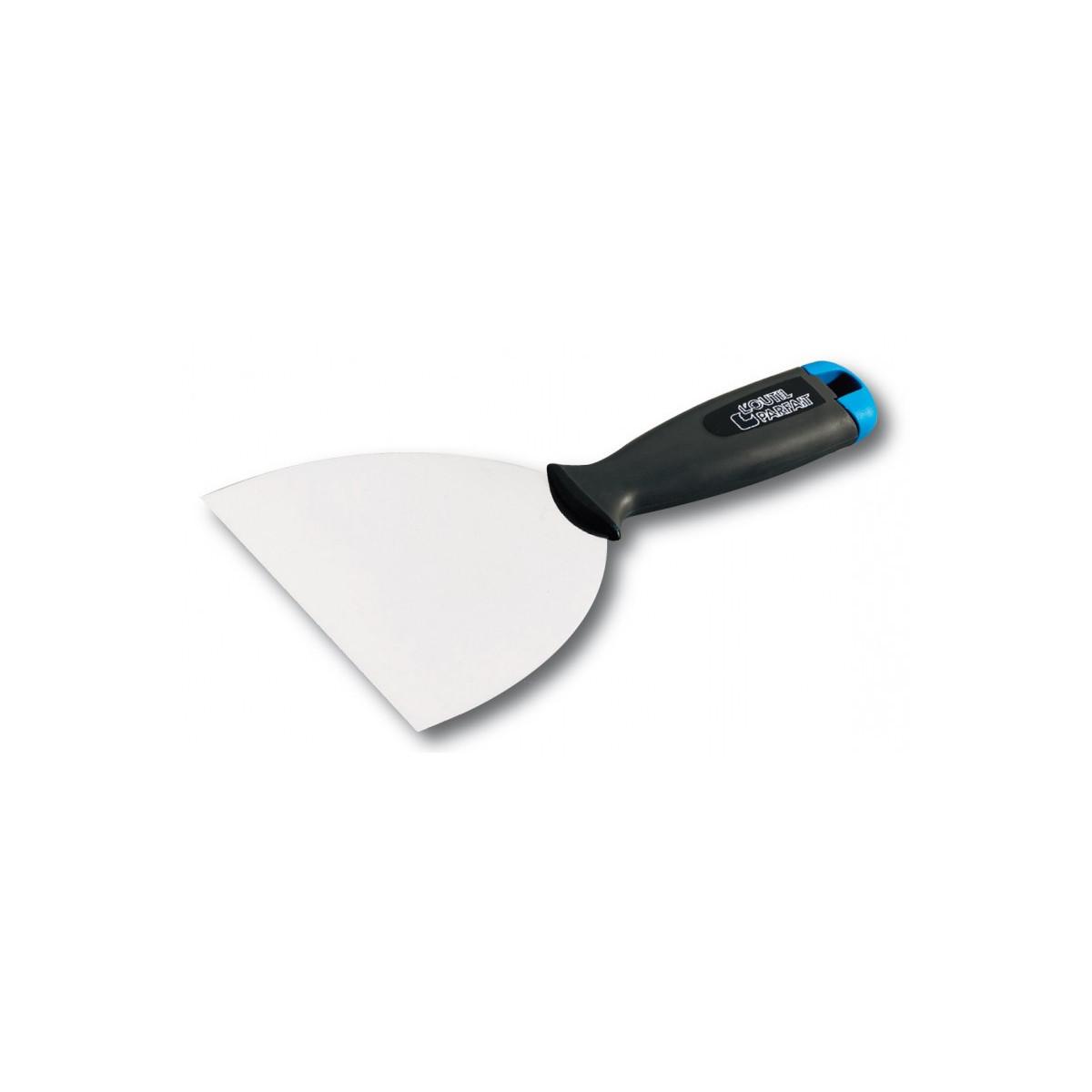 COUTEAU AMÉRICAIN SPATULE - Couteau américain souple béton ciré enduit application précise nette angles et arrêtes outil parfait