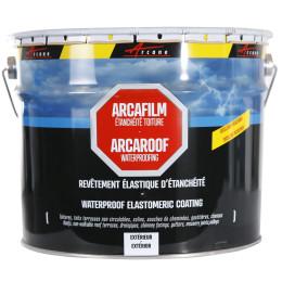 ARCAFILM - Etancheite toiture Anti infiltration Anti fissure Réparation Matériaux cassés Comme une peinture