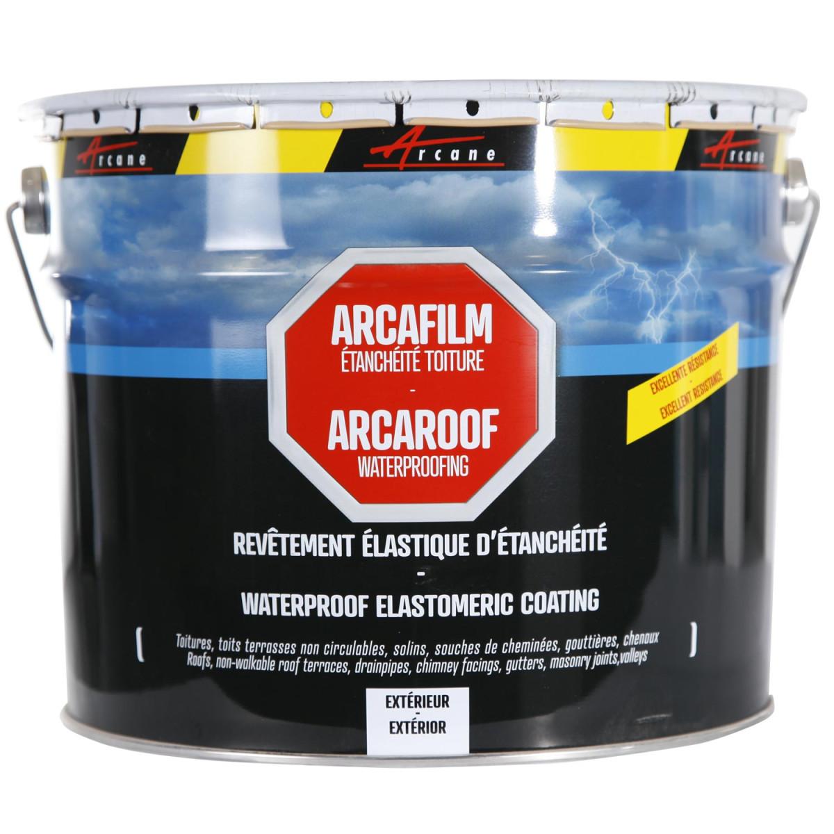 Résine d'étanchéité toiture - membrane élastique colorée : ARCAFILM