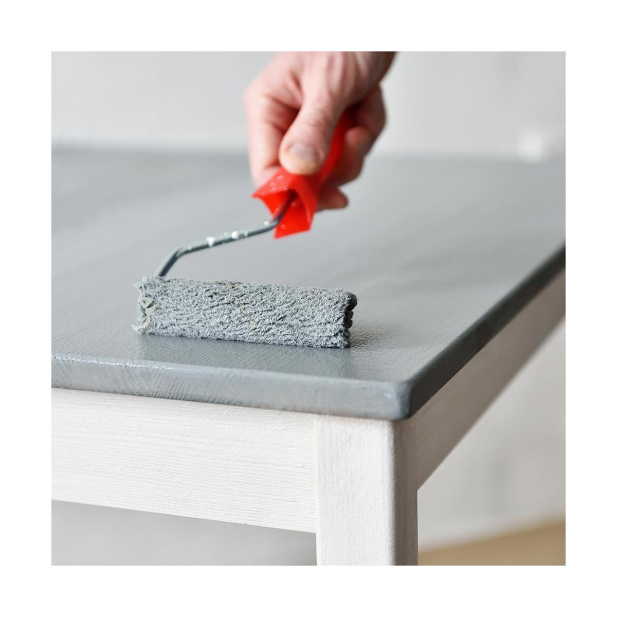 Peinture meuble cuisine bois stratifi m lamin radiateur porte r sine - Peinture meuble cuisine stratifie ...