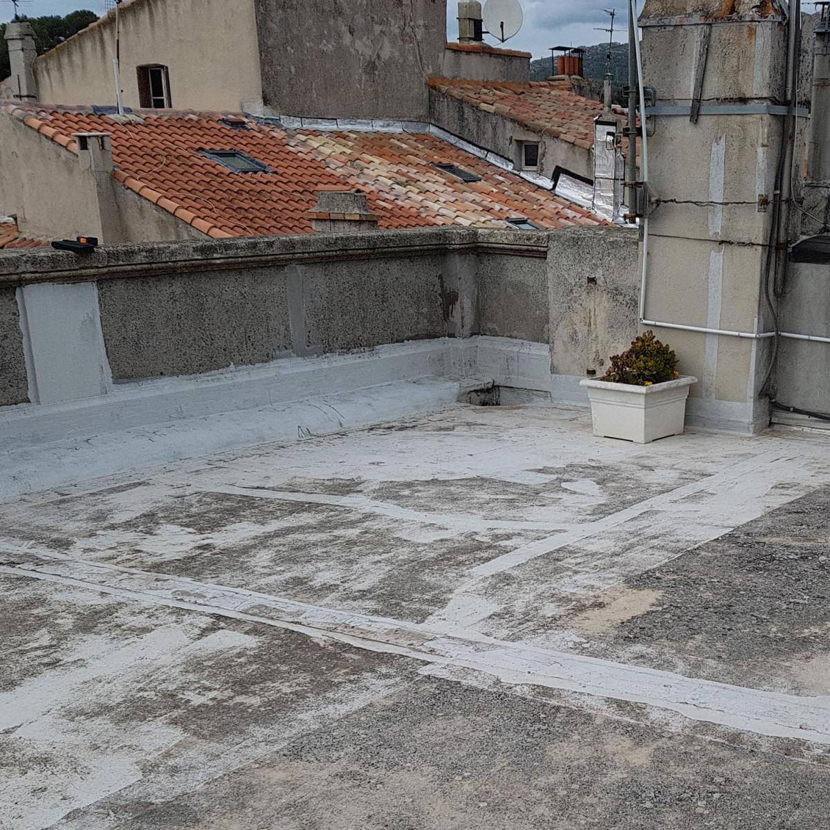Résine étanchéité toit terrasse / plat | ARCATHAN | Maison Etanche