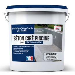 Kit Béton ciré piscine béton - revêtement étanche PISCINE haute résistance