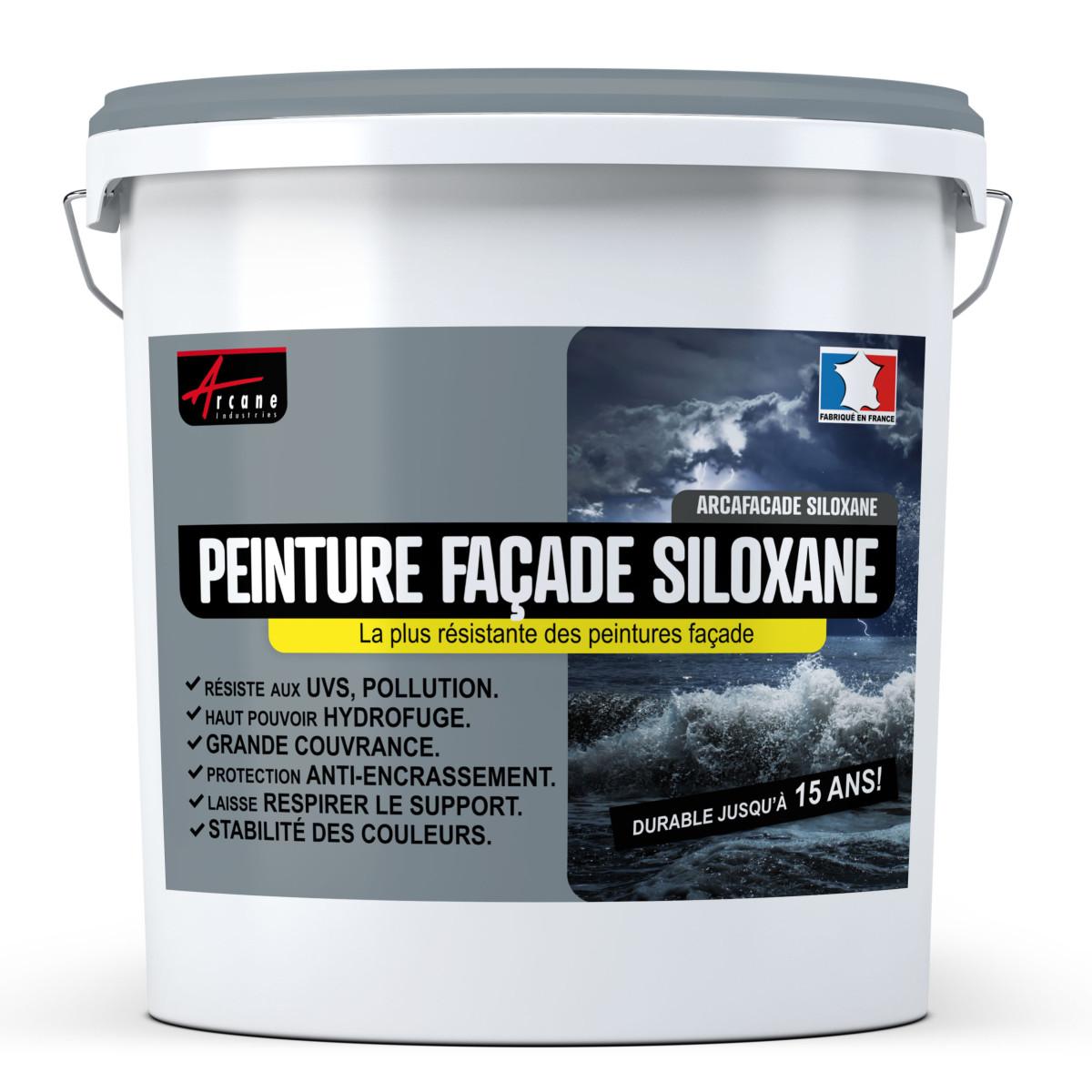 Peinture Façade Siloxane - ARCAFAÇADE SILOXANE