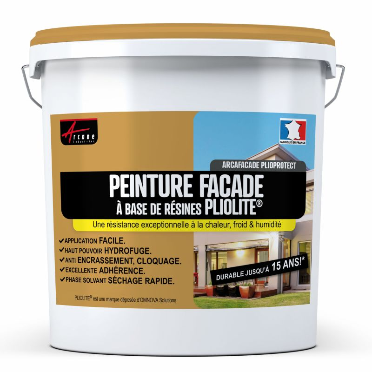 Peinture Façade Pliolite - ARCAFAÇADE PLIOPROTECT