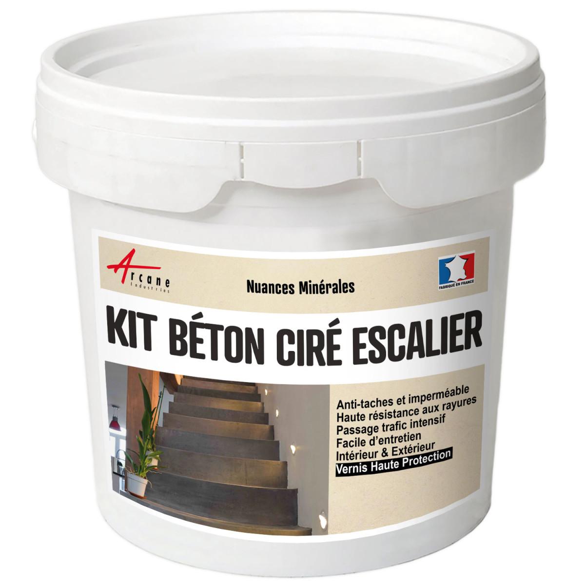 Béton Ciré Escalier - Kit Complet