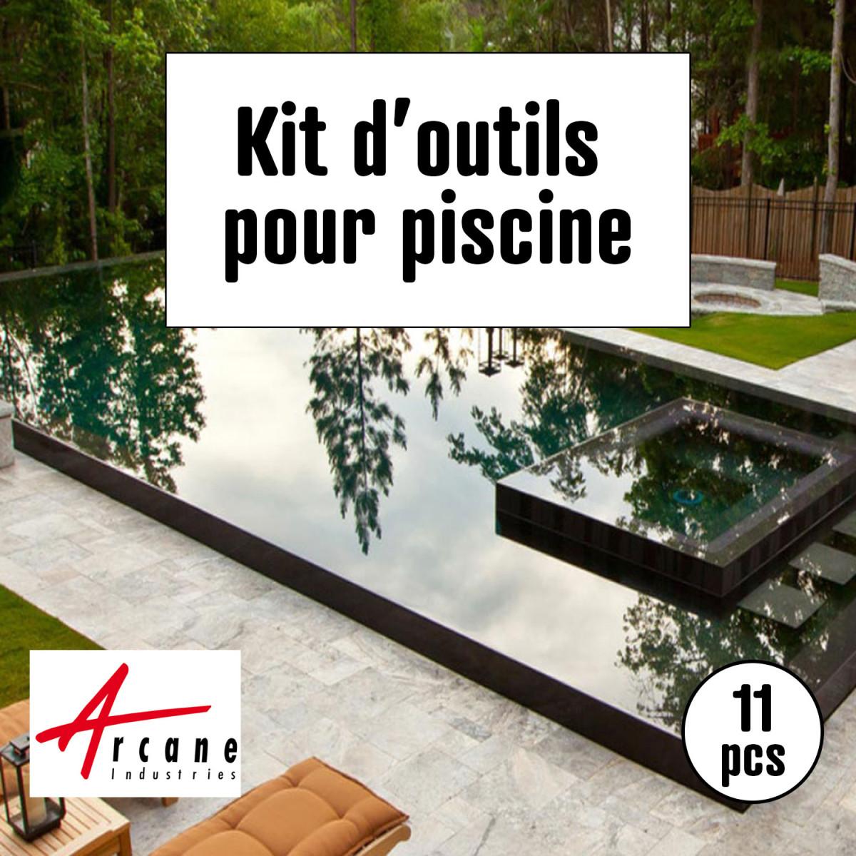 Outils d'application pour peinture piscine | Maison Étanche